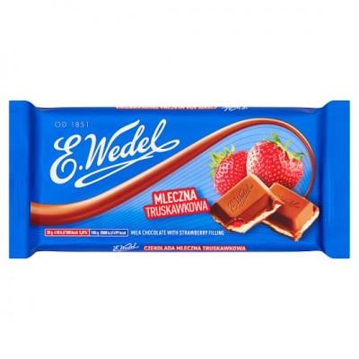 E.Wedel Czekolada truskawkowa 100 g