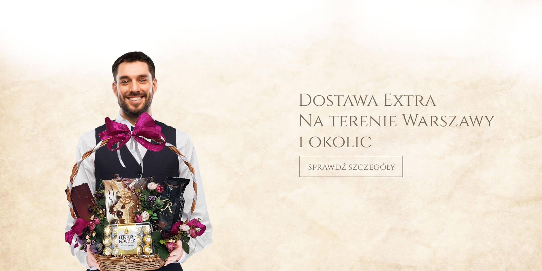Usługa Extra na terenie Warszawy i okolic